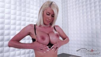Riley Jenner – Caged Cuck