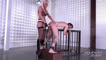 Riley Jenner – Strap-on Fuck Meat