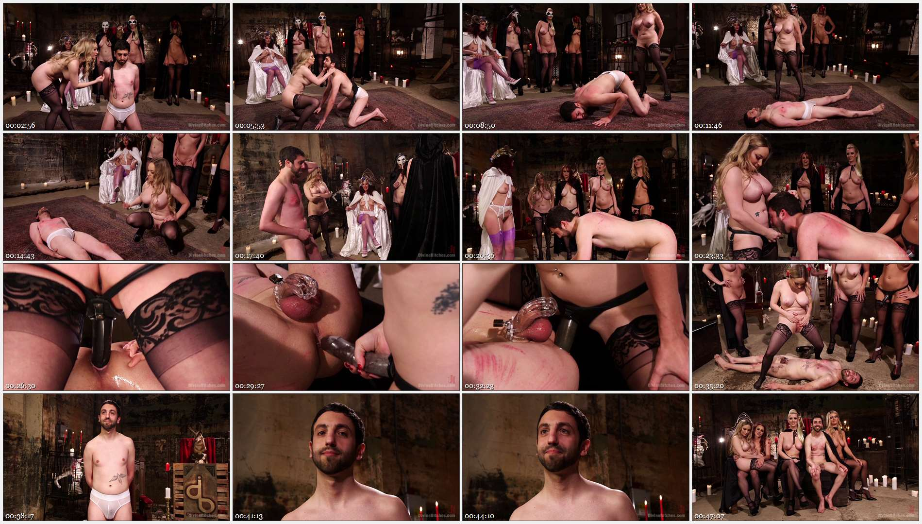 Bella Rossi – Jay West – Cherry Torn – Amanda Tate – Aiden Starr – Maitresse Madeline Marlowe – The Secret Femdom Society: Territorial Pissings 