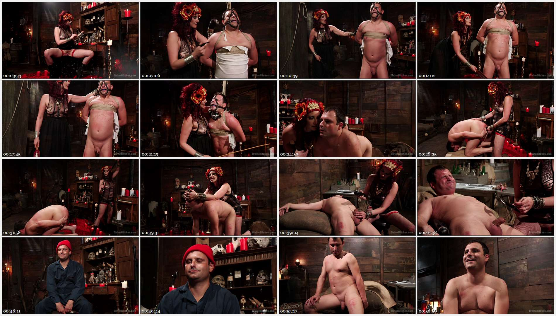 Maitresse Madeline Marlowe – Marcelo – Sex Magick: BRUTAL and EXTREME sounding! 