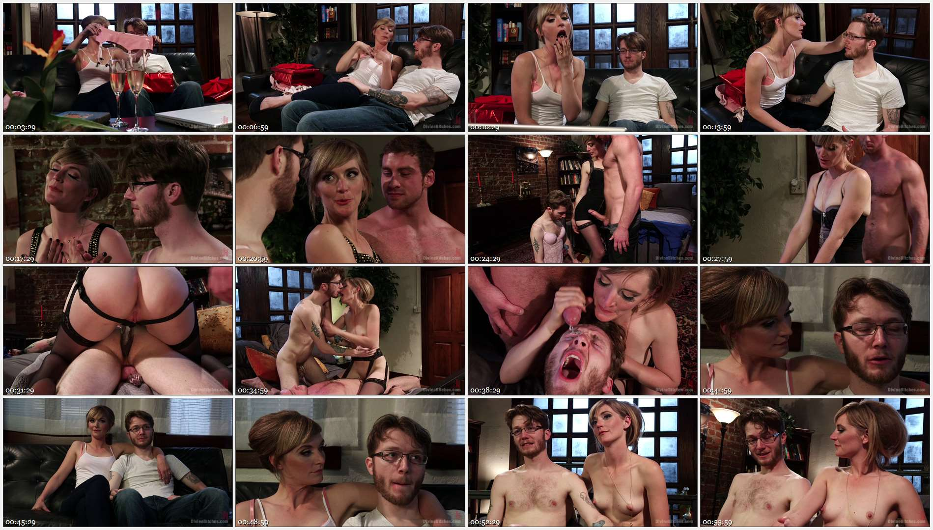 Connor Maguire – Mona Wales – Patrick Knight – Honeymoon Humiliation: Wife Cuckolds New Hubby Into Better Sex 