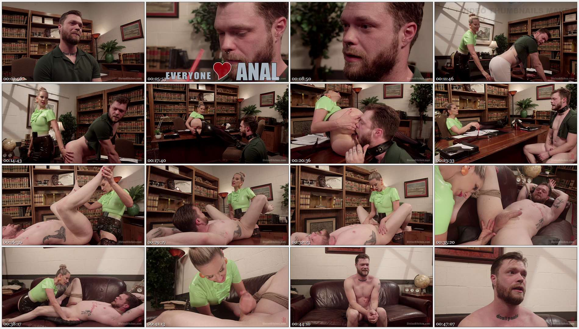 Maitresse Madeline Marlowe – Mike Panic – Everybody Loves Anal, So Worship That Ass! 