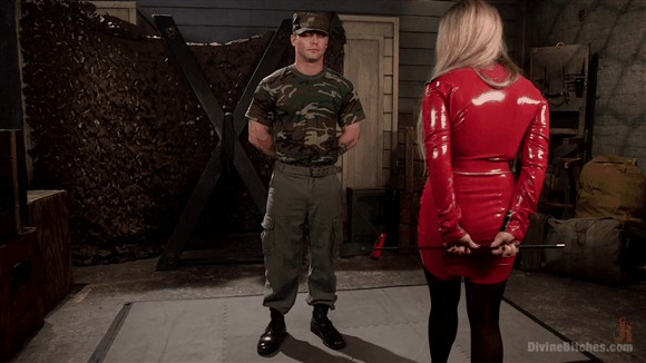 Aiden Starr – Sergeant Miles – Aiden Starr Dominates Sexy Military Hard Ass _cover