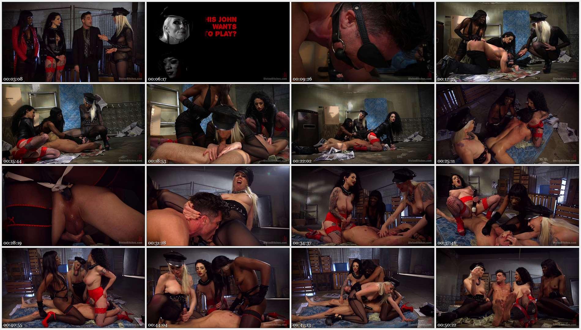 Lance Hart – Lorelei Lee – Arabelle Raphael – Ana Foxxx – City of Sin: Entitled John Brought Down a Peg 