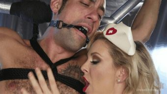Cherie DeVille – DJ – Nurse Cherie DeVille Inflicts Sadistic Medical Malpractice on DJ 