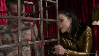 Veruca James – Ruckus – Disobedient Masturbating Slave Punished and Fucked with a Fat Cock 