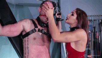 Abella Danger – D. Arclyte – Abella Danger Fucks Man in the Ass in her First Divine Bitches Shoot!! 