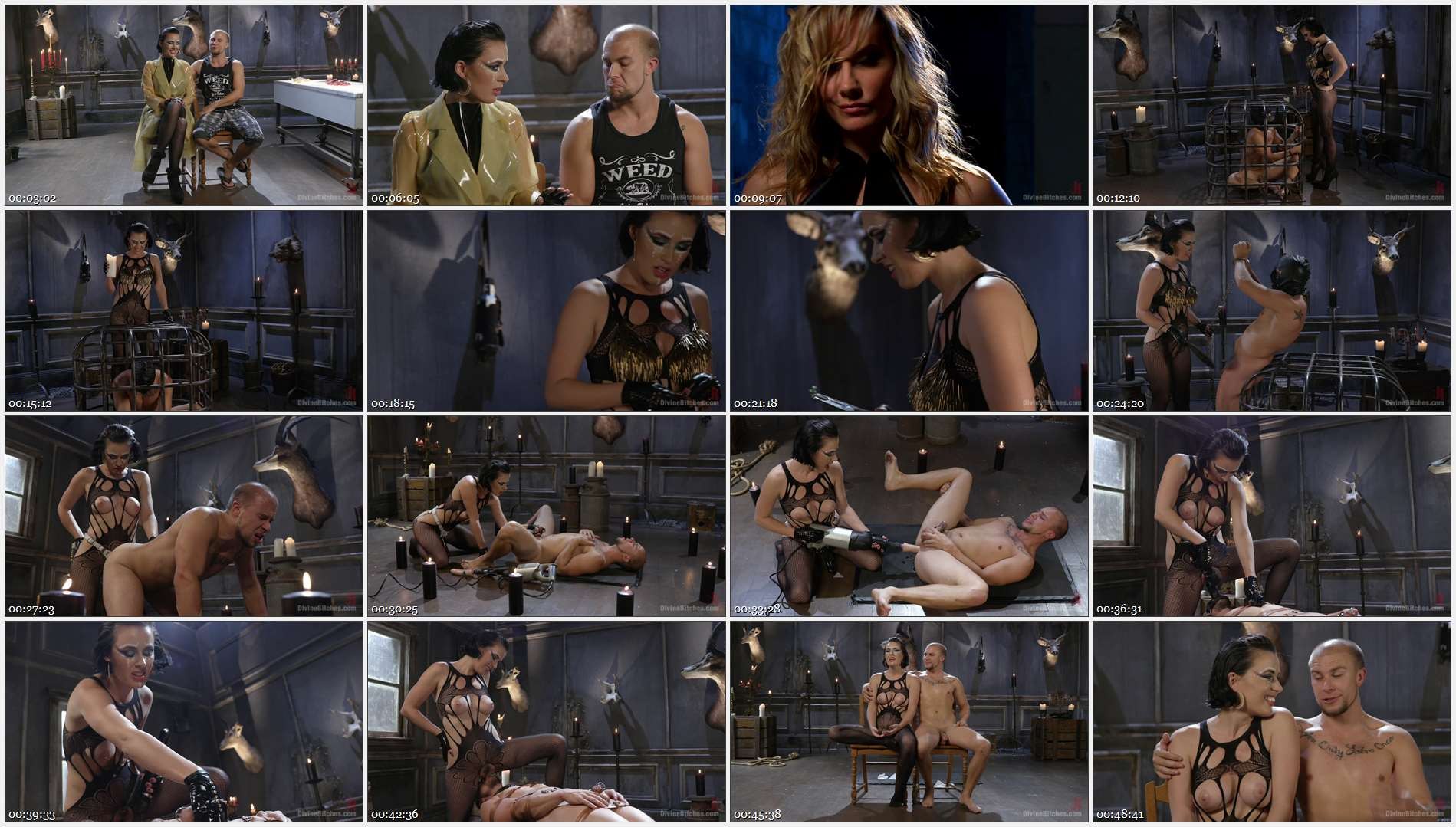 Eli Hunter – Olive Glass – Vagina Dentata: Olive Glass Unleashes Her Perfect Cunt Onto Slave Meat 