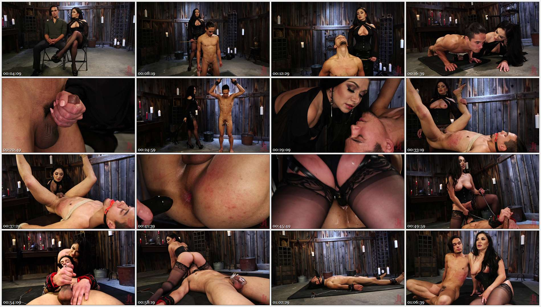 Lea Lexis – Adrian Marx – Fresh Meat: Lea Lexis takes new sub for a test drive! 