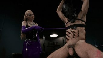 Delirious Hunter – DJ – Svelte Blonde Delirious Hunter Punishes and Fucks Buttslut Slave 