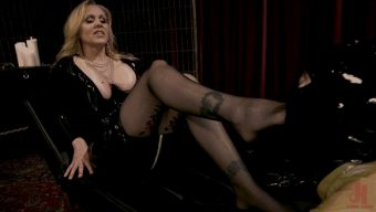 Julia Ann – Tony Orlando – Latex Goddess Julia Ann Dominates Dripping Cock Whore 