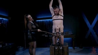 Bella Rossi – Dozer Torn – New Male Dom Made to Submit and Take Pain from Goddess Bella Rossi 