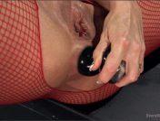 Casey Calvert – Celeste Summerz – Filthy, Hot, Red head MILF loves Anal from sexy young Casey Calvert