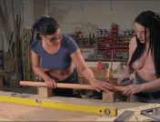Penny Barber – Veruca James – Aiden Starr – From Carpenters to Lesbians, Aiden Starr makes a lot of things