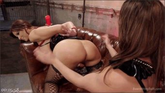 Mia Little – Ariel X – Syren de Mer – Gaping Anal Bondage and spanking