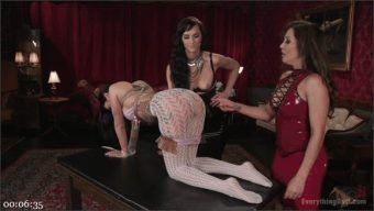 Francesca Le – Lily Lane – Bianca Breeze – Dominatrix gets her ass handed to her by Francesca Le