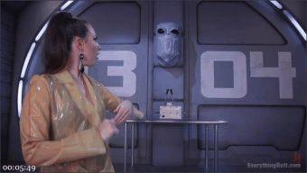 Casey Calvert – Roxy Raye – Lisa Tiffian – Aliens from Uranus Fuel spaceships with Farts and orgasms.