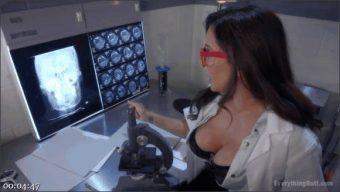 Francesca Le – Kira Noir – Mad Scientist, Francesca Le, creates human android to be an anal slave