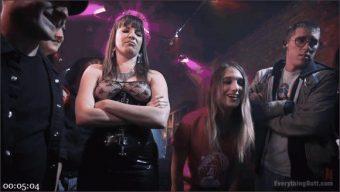 Dana DeArmond – Sophia Grace – Wrecked in Public! Sophia Grace and Dana Dearmond play with Ass