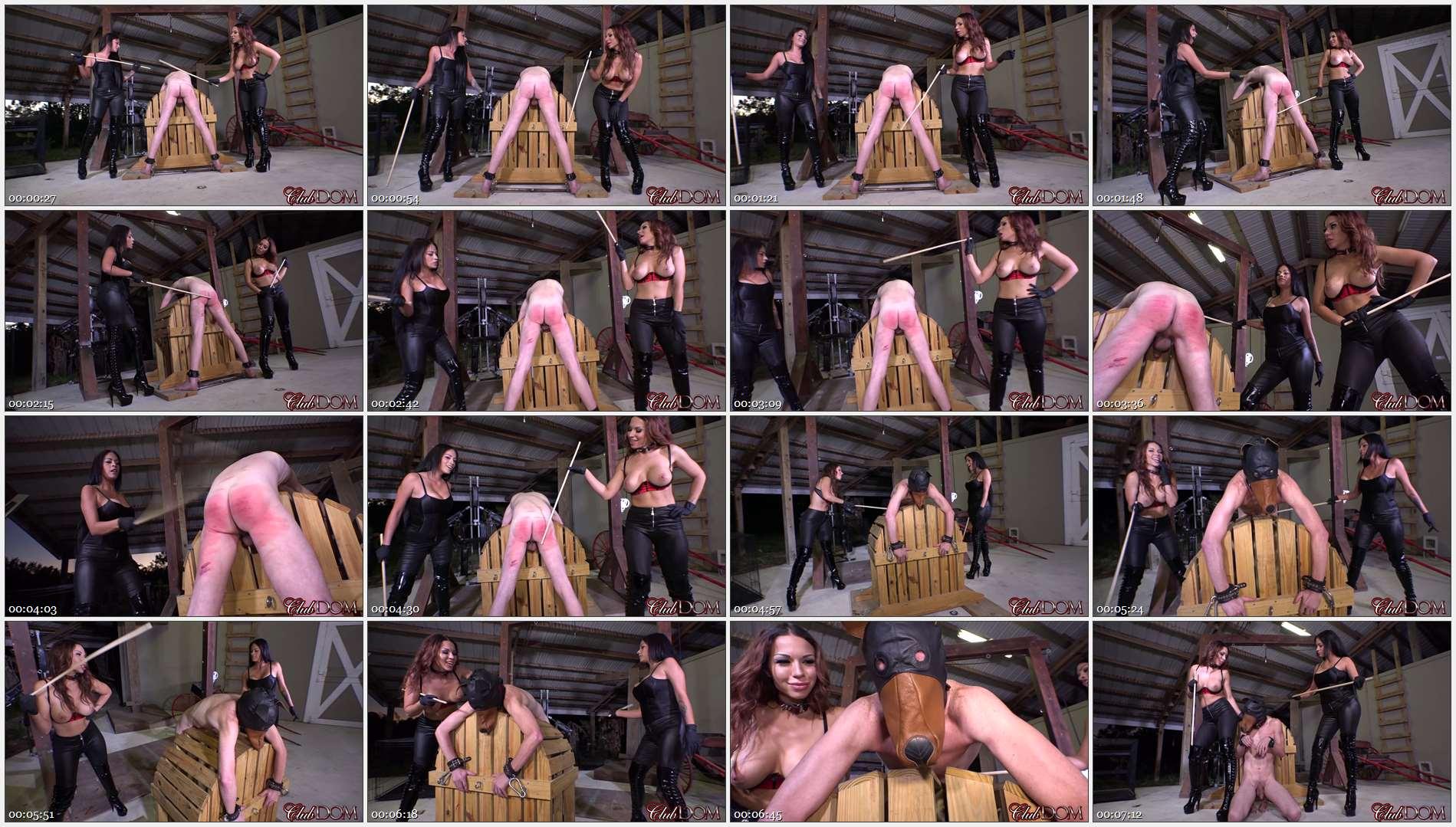 Kylie Rogue & Jamie Valentine Caning