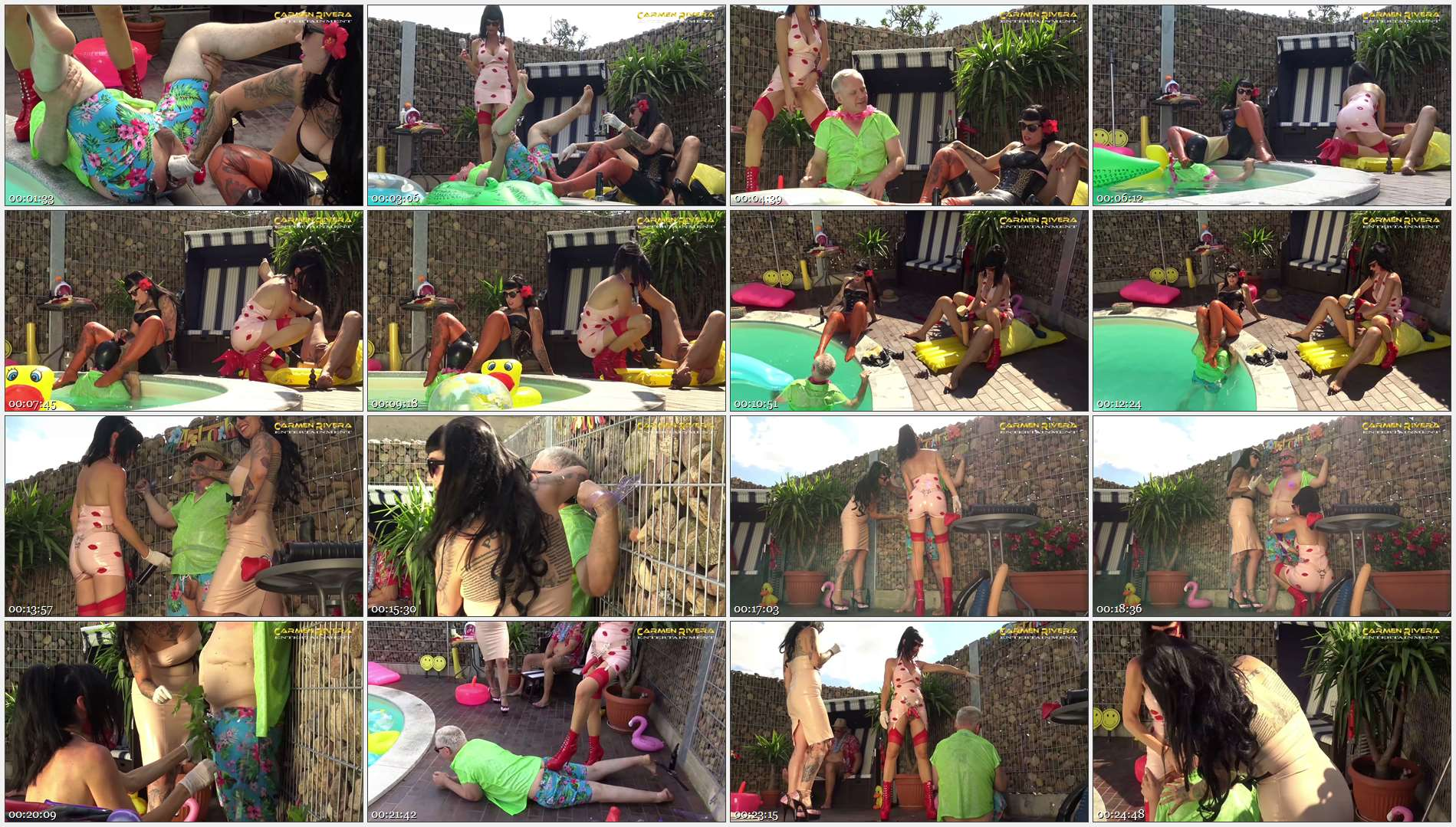 Carmen Rivera – Lady Vampira – Party-Opfer – Franky – Aqua Fickness: Chapter Two