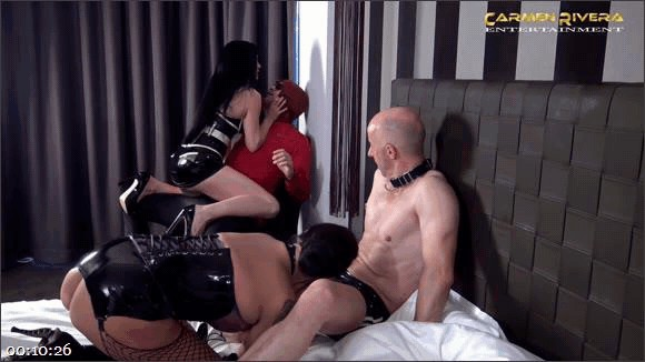 "Carmen Rivera – Miss Roxxy – Mister P. – Chris ""Schock\"" Cock – Cuckold 666: Chapter Two_cover"