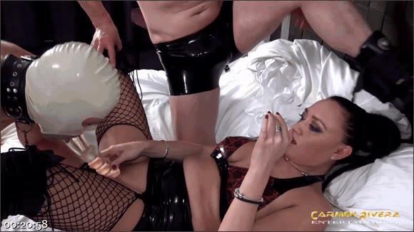 "Carmen Rivera – Miss Roxxy – Mister P. – Chris \""Schock\"" Cock – Cuckold 666: Chapter Three_cover"