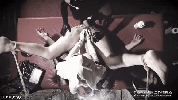 Carmen Rivera – Franky – Fraeulein Schmitt – Die Arschhoelle: SEXorzismus_cover