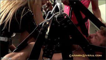 Carmen Rivera – Queen Jennifer Carter – Colby Jansen – Penetrated by Queen Jennifer Carter and Carmen Rivera: We Give a Fuck