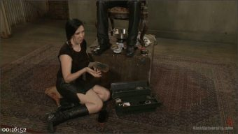 Nerine Mechanique – Mike Panic – Bootblacking: The Care, the Craft, the Kink!