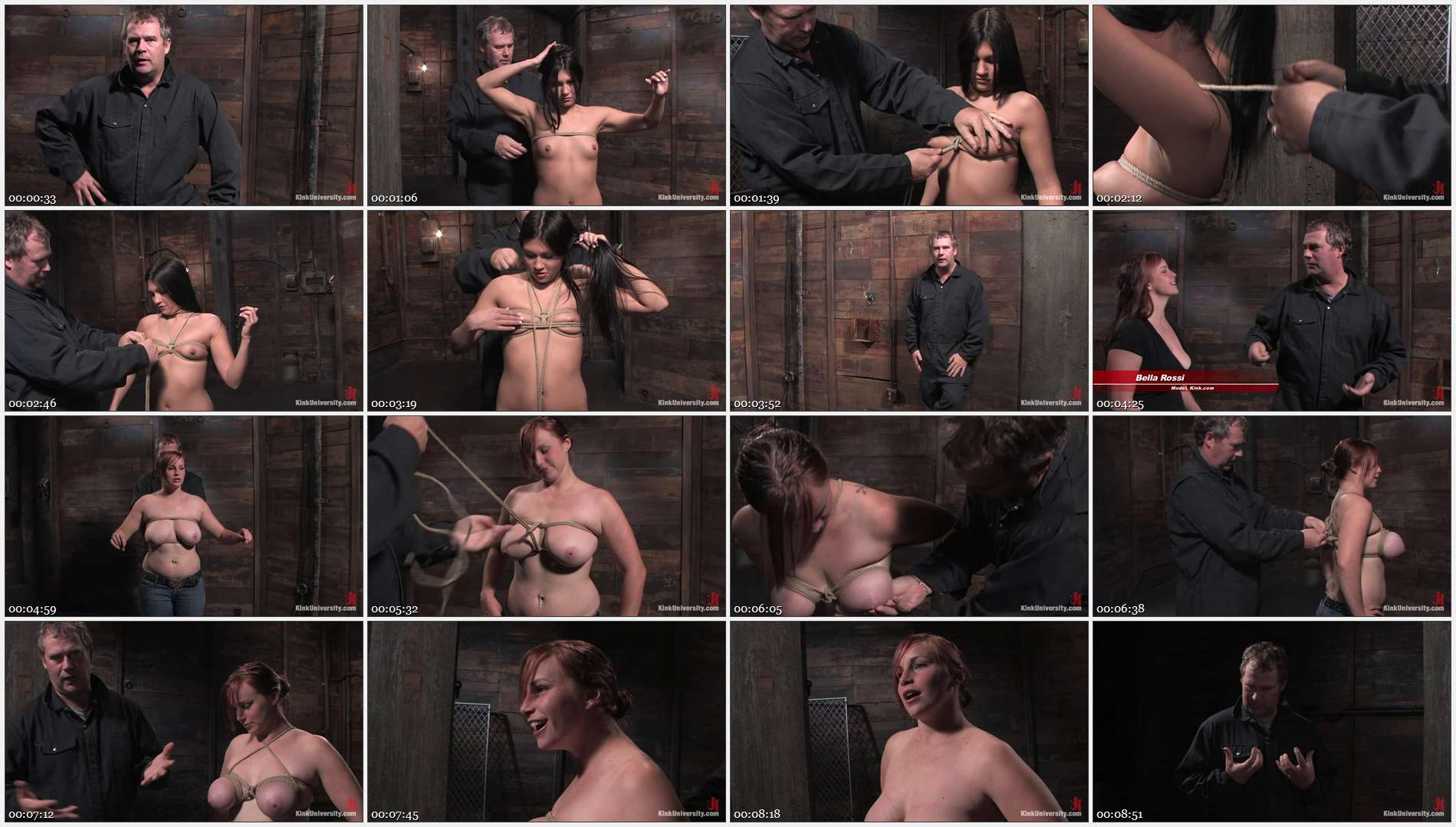 Bella Rossi – Miss Jade Indica – 2 Basic Breast Ties with Matt Williams