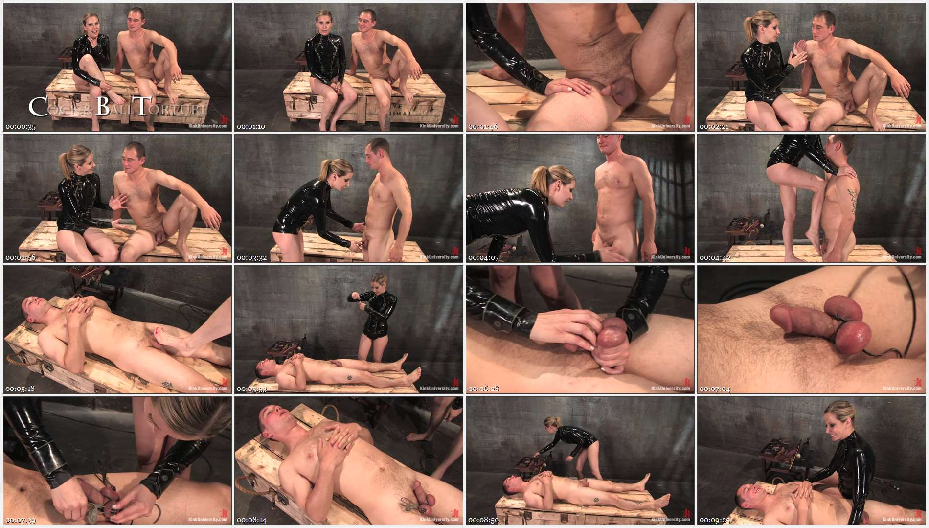 Maitresse Madeline Marlowe – Curt Wooster – Cock and Ball Torment With Maitresse Madeline