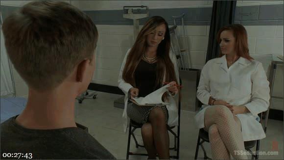 Venus Lux – Bella Rossi – Sam Solo – Sexual Identity Experiment: Venus Lux in Hospital Threesome Feature!_cover