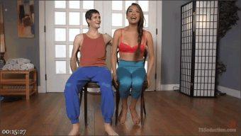 Tony Orlando – Jessica Fox – Pay for your yoga class with a cream pie!