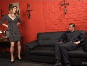 Will Havoc – Delia DeLions – Delia releases a kept man from chastity then locks him down with her cock!