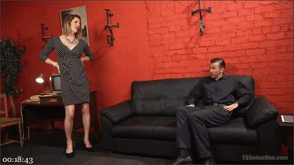 Will Havoc – Delia DeLions – Delia releases a kept man from chastity then locks him down with her cock!_cover
