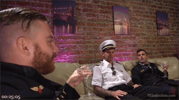 Lance Hart – Will Havoc – Sebastian Keys – Aubrey Kate – Aubrey Kate\'s 1st Cockpit Cum Fest Gangbang!_cover