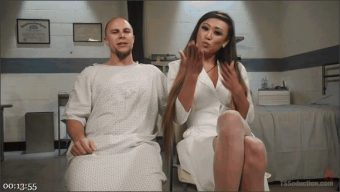 Venus Lux – Eli Hunter – Hot for Nurse! Dr. Lux Treats Patient with Dose of Thick Cock!