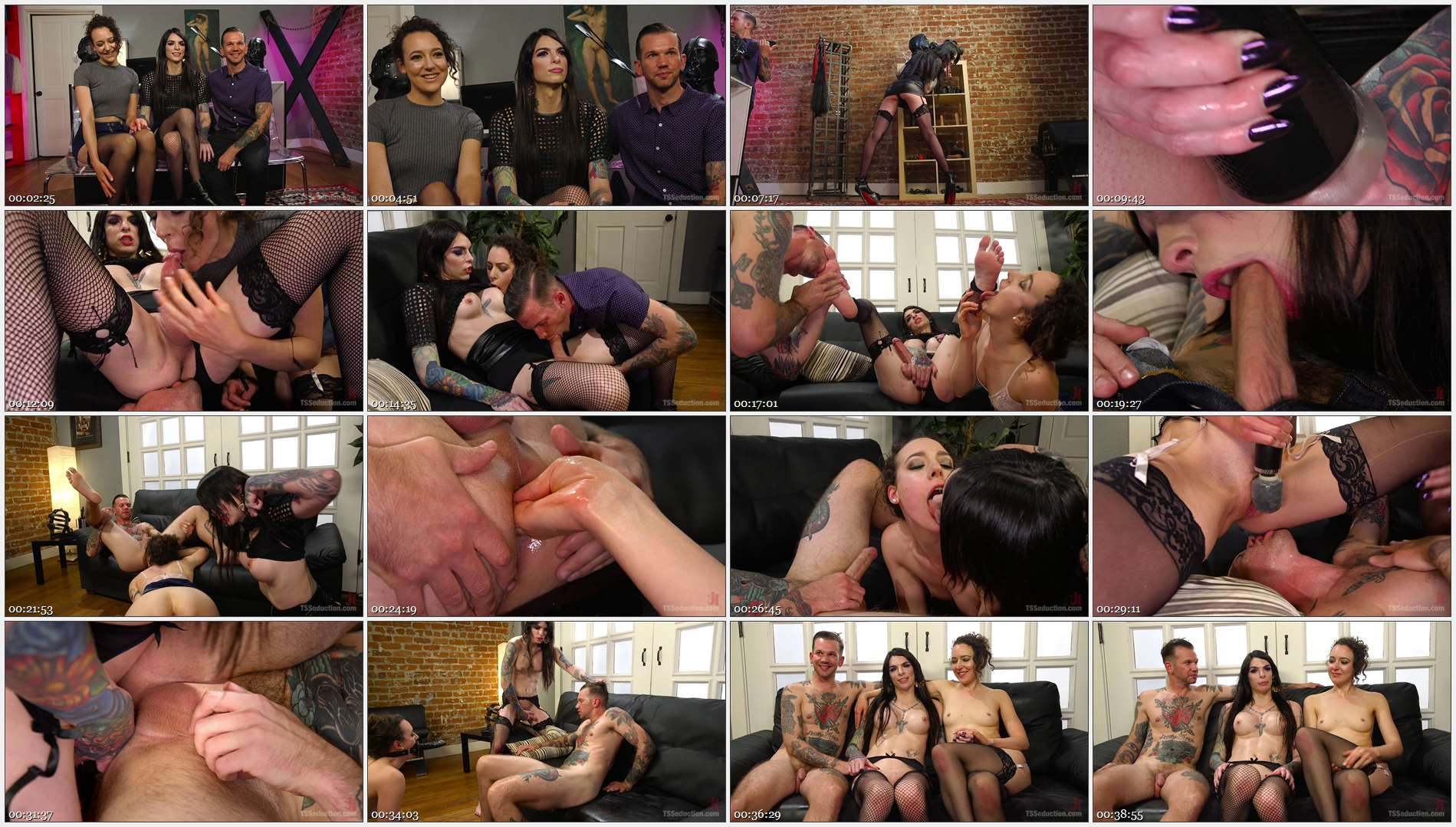 Chelsea Marie – Lilith Luxe – Will Havoc – Hot, Slutty TS Lady Barges into Sex Shop to Fuck and Suck the Staff!