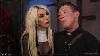 Pierce Paris – Aubrey Kate – Sister Aubrey Kate Punishes Priest Pierce Paris