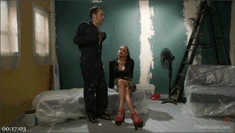 Jessica Fox – DJ – Jessica Fox Loves Sweaty Balls and Fucks Handyman DJ