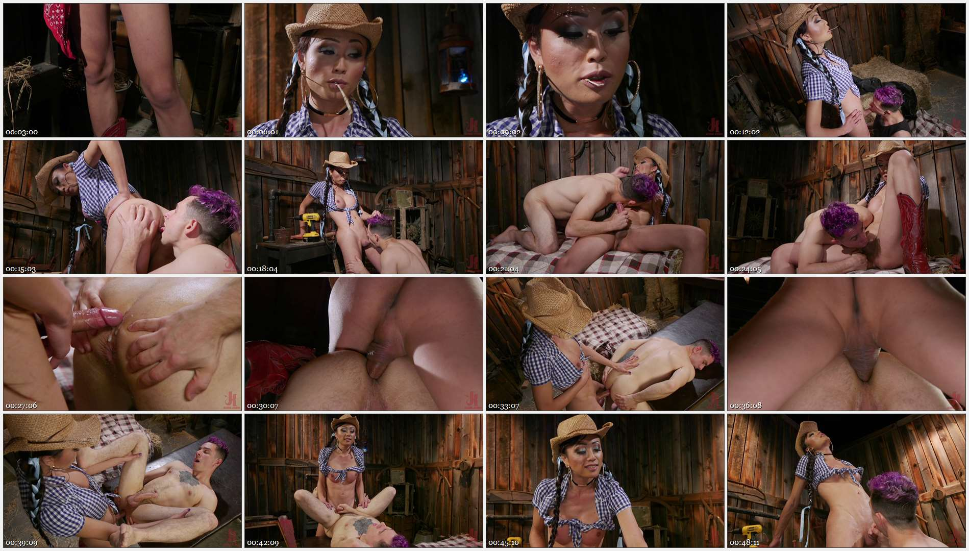 Venus Lux – Corbin Dallas – Earn Your Keep: Venus Lux\'s Country Barn Seduction