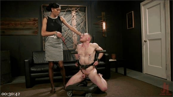 Venus Lux – Damien Moreau – Obedient Boy: Venus Lux Torments & Fucks Her Delivery Boy_cover