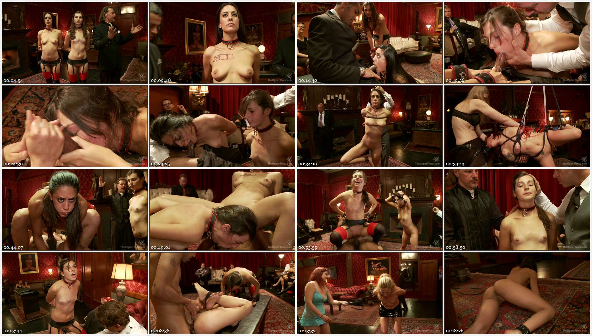 Mickey Mod – Kristine Kahill – Lyla Storm – Anal Punishment and Demotion of a House Slave