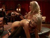 Maestro – Simone Sonay – Amanda Tate – Two Blonde Slaves Serve One Hard Cock
