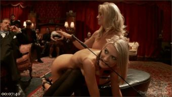 Maestro – Simone Sonay – Amanda Tate – Two Blonde Slaves Serve One Hard Cock
