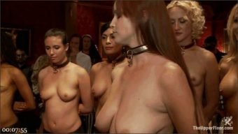 Mickey Mod – Bella Rossi – Casey Calvert – Owen Gray – Alani Pi – Penny Barber – Dylan Ryan – Maestro – Beretta James – Nikki Darling – Simone Sonay – Penny Pax – Masquerade Orgy with Nine Slaves,100 Horny Guests, Part One