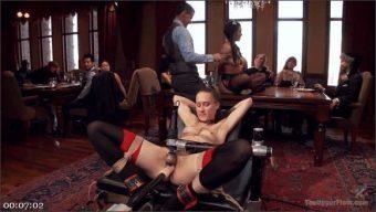 Owen Gray – Bonnie Day – Belle Noire – Two Beautiful Cock Sluts Entertain the Sunday Brunch Crowd