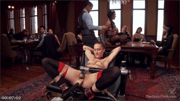 Owen Gray – Bonnie Day – Belle Noire – Two Beautiful Cock Sluts Entertain the Sunday Brunch Crowd_cover