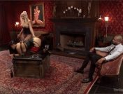 Leya Falcon – Katrina Jade – Karlo Karrera – Alpha Anal Slave Teaches her Bitch to Service Hard Cock